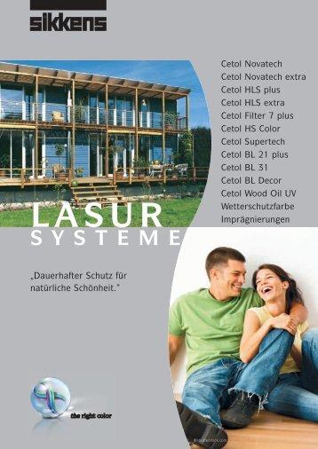 LASUR SYSTEME - Sikkens
