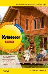 · Für jede Anwendung das richtige Produkt · Tipps und ... - Xyladecor