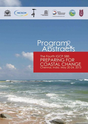Conference program and abstracts - Coastal-Change.Org