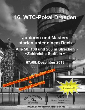 16. WTC-Pokal Dresden - USV TU Dresden e.V.