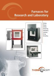 Furnaces for Research and Laboratory