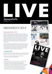 MEDIATIEDOT 2013
