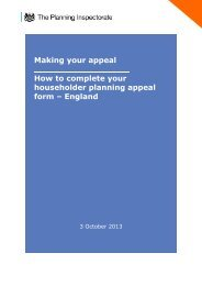 How to complete your householder appeal form - Planning Portal