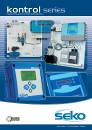 Measure and Control Instruments - Purotech.ie