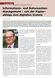 Informations- und Dokumenten- Management – von ... - Advellence
