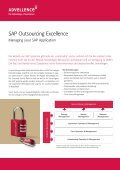 SAP Outsourcing Excellence - Advellence - Seite 2