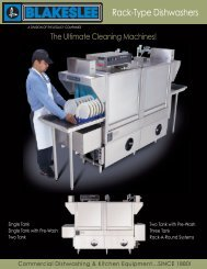 Download the Rack Type Dishwasher Brochure - Greenfield World ...
