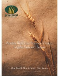 Global Foodservice April 2001 - Greenfield World Trade