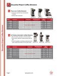 Grindmaster-Crathco Beverage Equipment Price List - Greenfield ... - Page 5