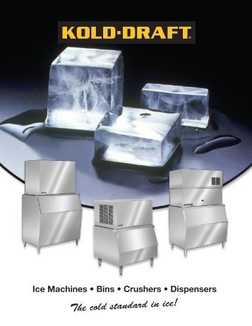 The cold standard in ice! - Greenfield World Trade