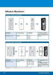 Modul-System - Connex Telecom