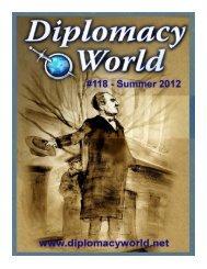 Diplomacy World #118, Summer 2012 Issue