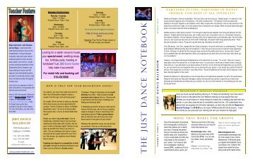 Newsletter - Just Dance Ballroom