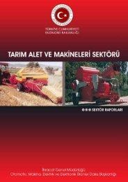 Tarım Alet ve Makineleri Sektörü - İhracat Bilgi Platformu