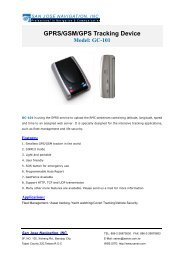 GPRS/GSM/GPS Tracking Device Model: GC-101 - Movado Solutions
