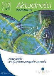 Aktualności Nr 12 plik do pobrania (format pdf) - bioMérieux