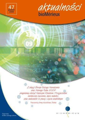 Aktualności bioMérieux nr 47 plik do pobrania (format pdf)