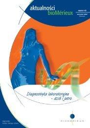Aktualności bioMérieux Nr 42 plik do pobrania (format pdf)