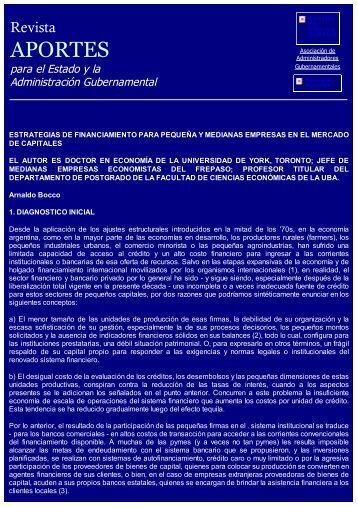 Estrategias de Financiamiento para Pequeñas y Medianas ...