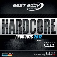 PRODUCTS 2012 - Best Body Nutrition