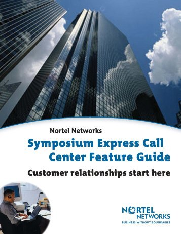 Nortel Networks Symposium Express Call Center ... - felix telecom