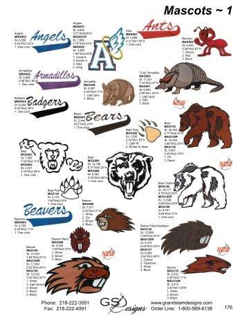Mascots ~ 1