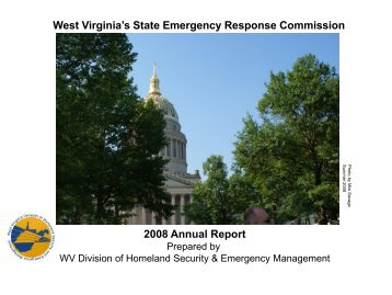 2008 Annual Report - West Virginia Division of Homeland Security