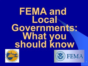 FEMA Public Assistance Program