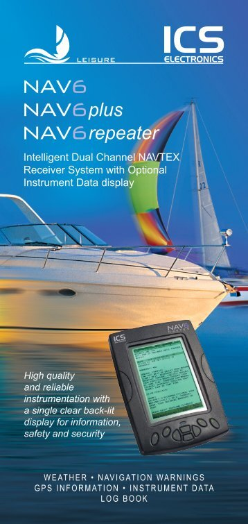 NAV6 Series Leaflet - ICS Electronics Ltd