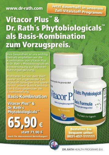 Basis-Kombination Vitacor Plus™ & Dr. Rath´s ... - Dr. Matthias Rath