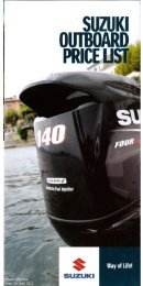 Suzuki outboard engine prices, boats and outboard ... - Morgan Marine