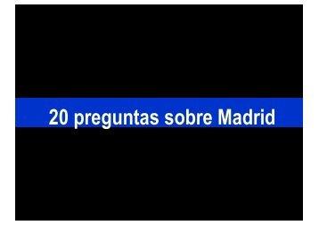 20 preguntas sobre Madrid - Wikiblues.net