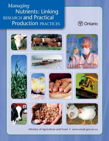 Linking Research & Practical Production Practices - OFA
