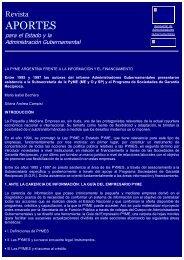 APORTES - Asociación de Administradores Gubernamentales