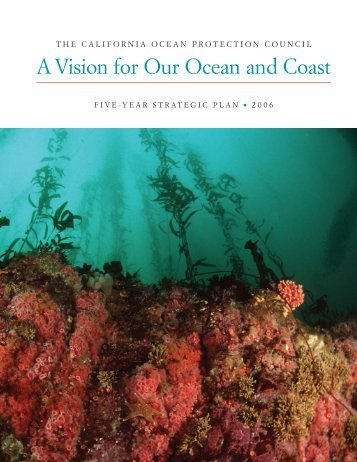 The California Ocean Protection Council Five-Year Strategic Plan