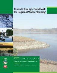 Climate Change Handbook for Regional Water Planning