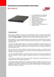 tecnología de almacenamiento profesional - MAST Storage