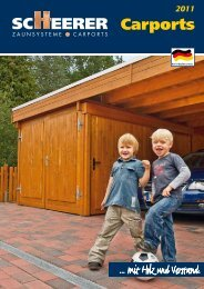 Carports - Grave Holzbauvertrieb GmbH