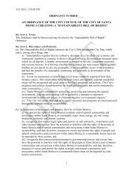 sustainability bill of rights - Earth Law Center
