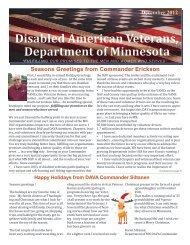 Disabled American Veterans, Department of Minnesota