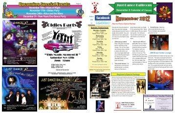 11-2012 NEWSLETTER.pub - Just Dance Ballroom