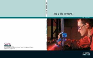 this is the company... - Scomi Group Berhad