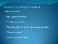The Gold Standard - Air Charter Safety Foundation