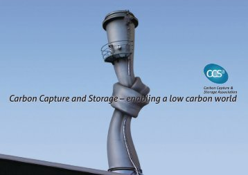 Carbon Capture and Storage – enabling a low carbon world
