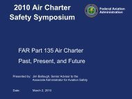 Responding To The NTSB's Increasing Focus On Air Charter