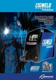 Download Specifications Sheet - Arcweld Welding Supplies