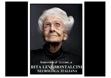 RITA LEVI-MONTALCINI - Wikiblues.net