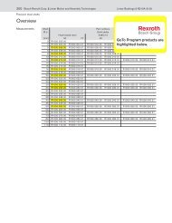 Download the GoTo Shafts PDF - Bosch Rexroth Corp.