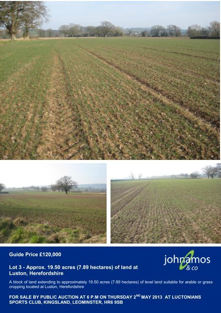 1950 Acres 789 Hectares Of Land At