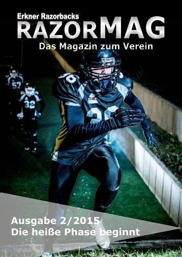 RazorMAG - Ausgabe 2/2015